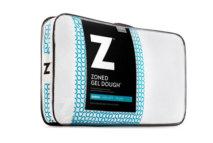 Medium Zoned Gel Dough Pillow